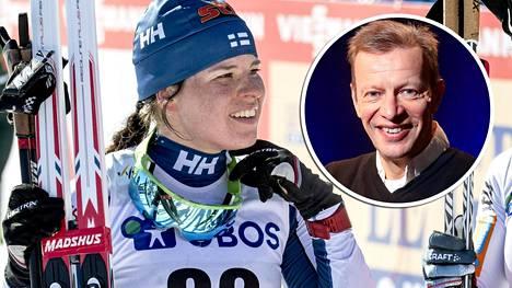 Krista Pärmäkoski pääsi juhlimaan Falunissa voittoa tiukkojen loppuvaiheiden jälkeen. Harri Kirvesniemi analysoi, missä suomalaistähti onnistui ja missä jäi parannettavaa.
