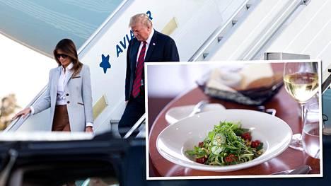 Trumpit valitsivat Kalastajatorpan listalta illalliseksi kasvispastan – kävimme testaamassa annoksen