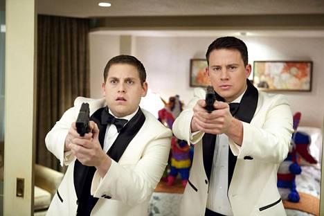 Jonah Hill ja Channing Tatum poliiseina.