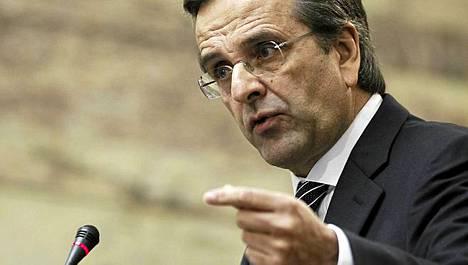 Antonis Samaras haluaa yhä pikavaalit Kreikkaan.