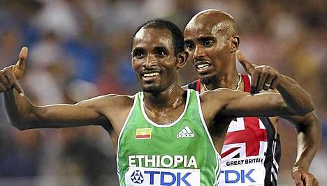 Ibrahim Jeilan jätti Mohamed Farahin taakseen.