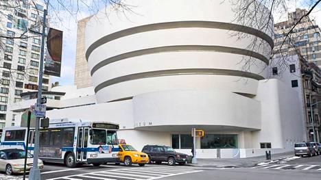 Guggenheimin museo on New Yorkin kuvatuin nähtävyys.