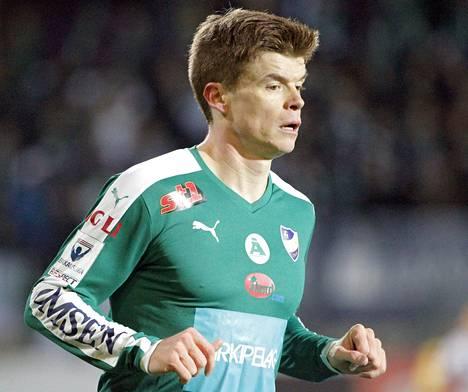 Albin Granlund on voittanut Suomen cupin kahdesti. Sunnuntaina on tyrkyllä Veikkausliigan mestaruus.
