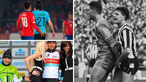Urheilussa on nähty monia sopimattomia ihmiskontakteja.