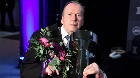 Timo Seppälä palkittiin erikoispalkinnolla Urheilugaalassa alkuvuodesta 2019.