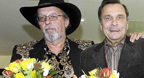 Iskelmä Finlandia -ehdokkaiden julkistus vuonna 2007. Topi Sorsakoski ja Reijo Taipale.