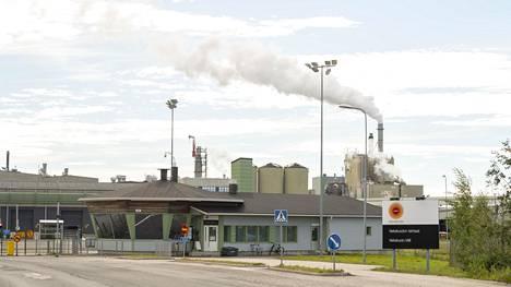 Stora Enson tehdas Kemin Veitsiluodossa.