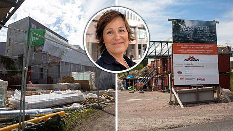 Taloyhtiö Viikinmäen Portaat jäi pahasti kesken, kun rakennusyhtiö Omera teki konkurssin. Yhtiöstä asunnon ostaneet ehtivät maksaa jo suuren osan kauppahinnasta. Ritva Isteri (kuva kesk.) on yksi heistä.