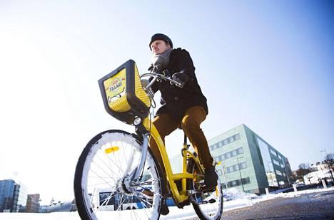 HSL:n mukaan kaupunkipyörät saadaan näillä näkymin käyttöön maanantaina 23.3.