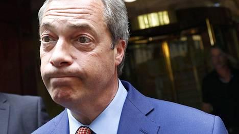 Britannian itsenäisyyspuolueen johtaja Nigel Farage olisi vaatinut uutta äänestystä, jos Brexit-leiri olisi hävinnyt pienellä marginaalilla.