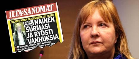 Ilta-Sanomat kertoi 20.5.2009 Aino Nykoppin teoista.