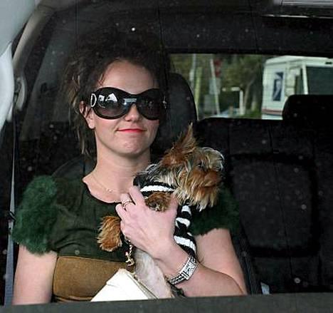 Britney Spearsille määrättiin väiaikainen lähestymiskielto.