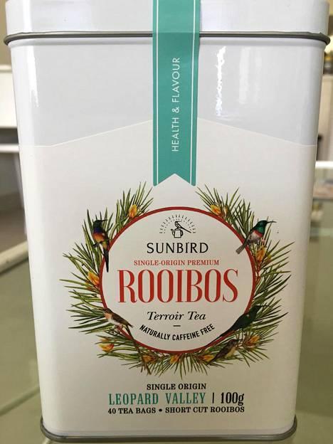 Antonin ja Lauran yritys tuottaa laadukasta Rooibosta.