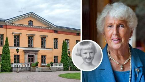Anna Lisa kasvoi kartanossa kreivittären ja kotiopettajattarien kaitsemana. Museovirasto on määritellyt Wiurilan kartanon rakennukset puistoineen yhdeksi Suomen valtakunnallisesti merkittäväksi rakennetuksi kulttuuriympäristöksi.