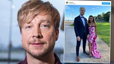 Samu Haberin Etel-kihlattu julkaisi ensimmäisen yhteiskuvan laulajan kanssa.