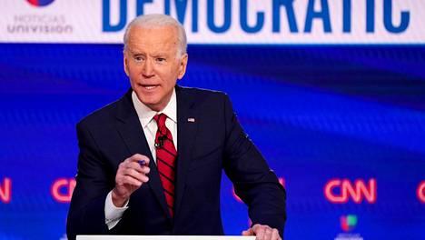 Joe Biden on Yhdysvaltain tuleva presidentti.