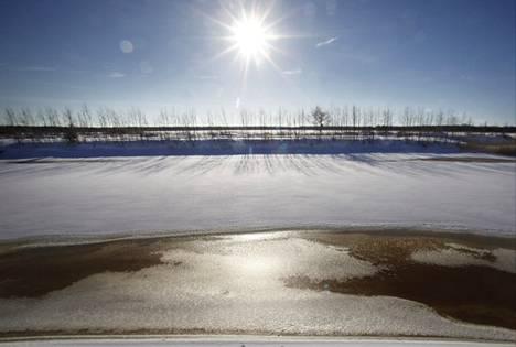 Fennovoiman ydinvoimalan suunniteltu sijoituspaikka on Hanhikiven niemellä Pyhäjoella.