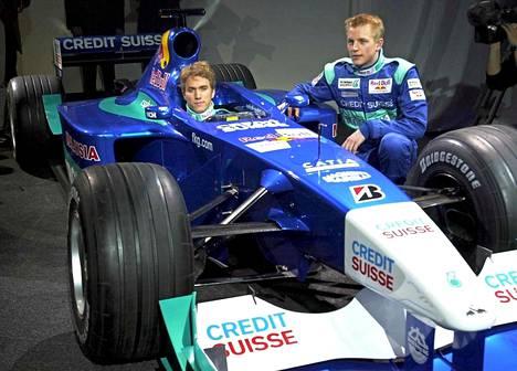Vuosi 2001, talli Sauber.