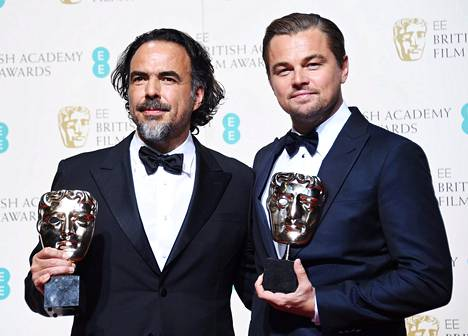 Ohjaaja Gonzalez Inarritu ja pääosan esittäjä Leonardo DiCaprio saivat molemmat Bafta-palkinnot. Lisäksi elokuva valittiin juhlien parhaaksi.