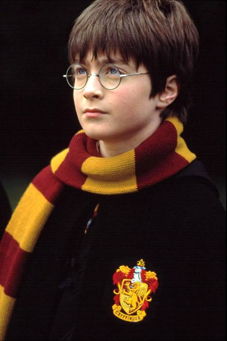 Tältä Daniel Radcliffe näytti Harry Potter -elokuvasarjan ensimmäisessä elokuvassa vuonna 2001.