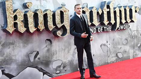 Brittinäyttelijä Charlie Hunnam tähditti King Arthur: Legend of the Sword -elokuvaa.