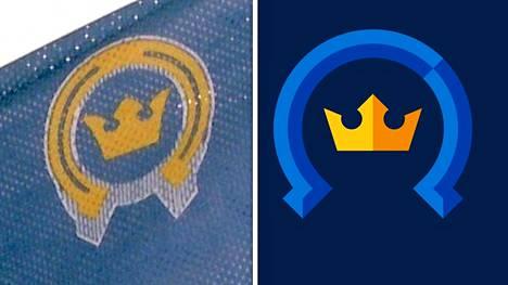 Kiekko-Espoon vanha ja uusi logo.