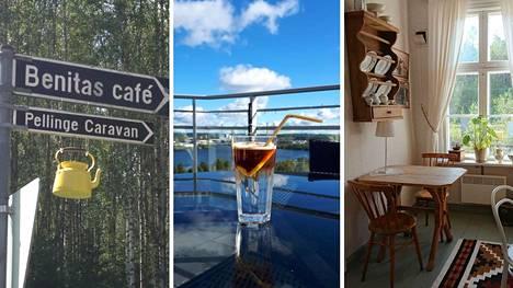 Suomessa piisaa erikoisia ja ihania kahviloita.