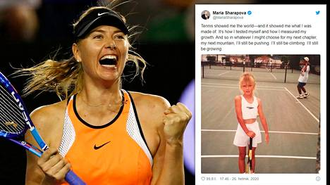 Maria Sharapovan tie pienestä neuvostoliittolaistytöstä tennishuipulle on lähes vertaansa vailla.