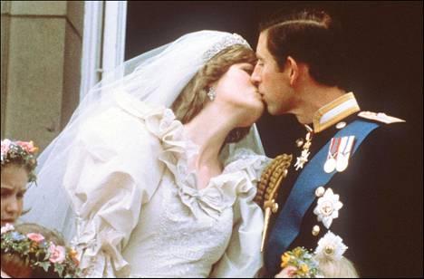 Diana ja Charles vihittiin vuonna 1981.
