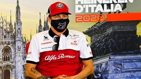 Kimi Räikkönen ei innostunut Belgian GP:n 12:nnesta sijasta.