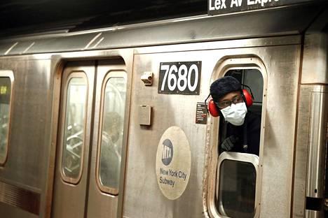 New Yorkin metrossa on ollut huomattavasti tavanomaista väljempää.