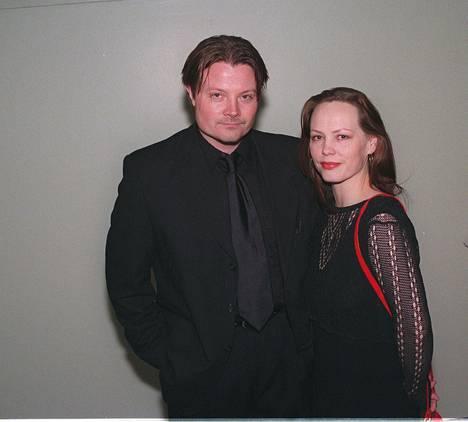 Kari Hietalahti ja hänen puolisonsa Minni kuvattuna 1999.