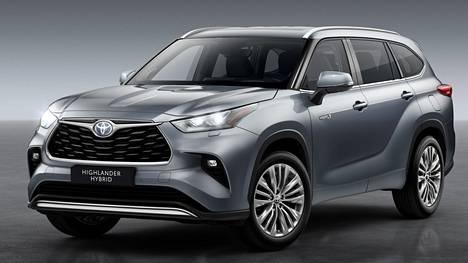 Toyota Highlander saapuu Suomeen alkuvuodesta 2021.