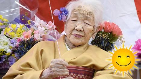 Kane Tanaka on Japanissa vanhimmaksi elänyt ihminen. Hän on myös tällä hetkellä maailman vanhin ihminen.