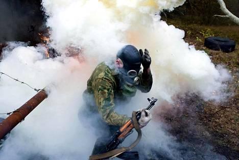 Venäjän Zapad 2017 -sotaharjoitus loppukesällä saattaa olla Venäjän suurin sotaharjoitus lännessä kylmän sodan jälkeen. Kuva Zapad-harjoituksesta vuonna 2009.