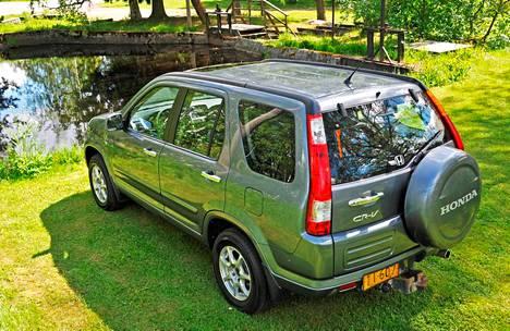 Toisen sukupolven Honda CR-V.