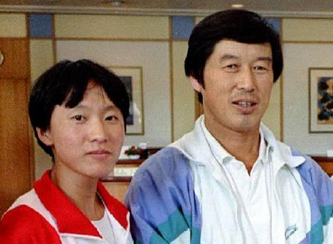 Wang Junxia oli aikoinaan Ma Junrenin tiukassa valmennuksessa.