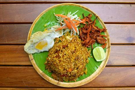 Malesialaiset syövät aamiaiseksi yleensä riisiä.