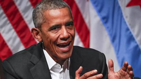 Barack Obama oli Yhdysvaltain 44:s presidentti.