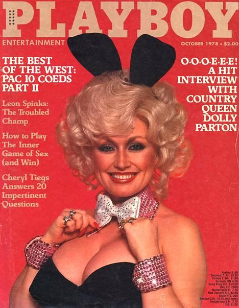 32-vuotias Parton Playboy-lehden kannessa syksyllä 1978.