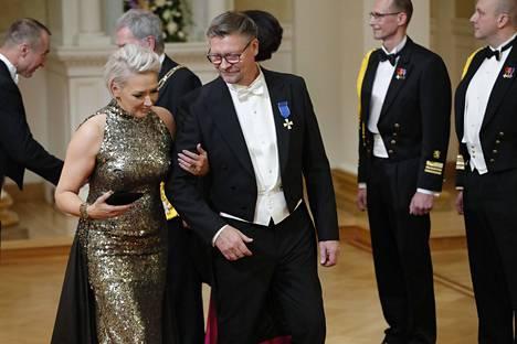 Jukka ja Sari Jalonen.