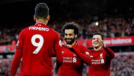 Liverpoolin pelaajat valmistautuivat Bayern Münchenin kohtaamiseen rennosti sähköshokein ennen illan Mestarien liigan ottelua