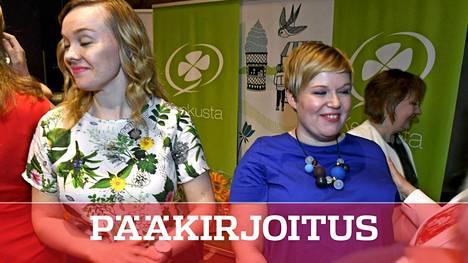 Katri Kulmunin ja Annika Saarikon taistelu näyttää myös sen tien, miten keskusta on sitoutunut hallitukseen kovissa talousväännöissä.