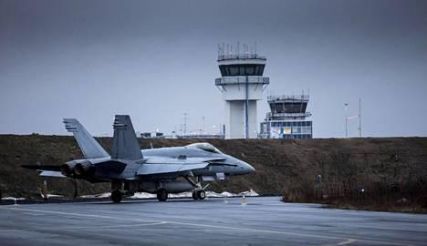 Yksi Suomen Hornet-tukikohdista sijaitsee Rissalassa Savossa.