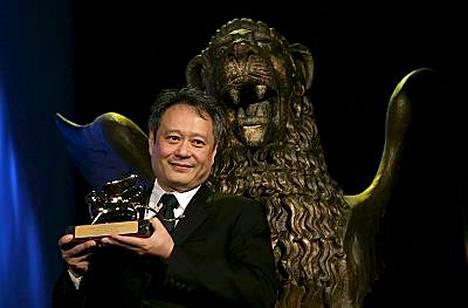 Ang Lee voitti juhlien pääpalkinnon myös kaksi vuotta sitten elokuvastaan Brokeback Mountain.