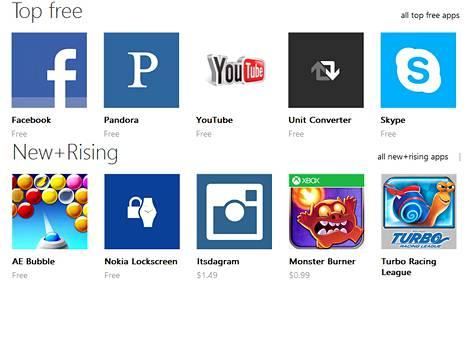 Youtube on Windows Phone Storen suosituimpia sovelluksia.