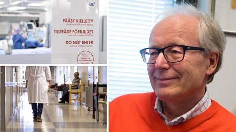 Immunologian professori Seppo Meri ei usko, että mitään jyrkkää nousua tautimäärissä ja sairaalahoidon tarpeessa Suomessa tuskin enää nähdään.