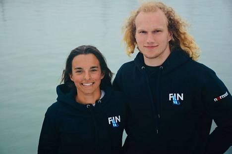 Sinem Kurtbay ja Akseli Keskinen aloittivat keskiviikkona olympiauransa Enoshiman vesillä.