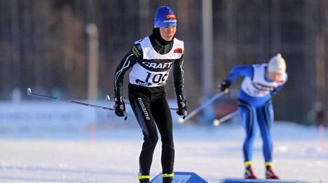 Kettunen osallistui SM-hiihtoihin viime vuonna Hakunilassa.