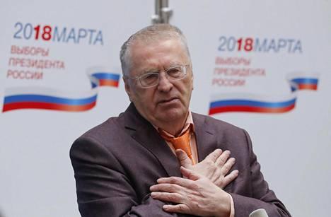 Vladimir Zhirinovski ei lämpene alueluovutuksille.